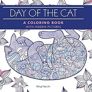 Adult Coloring Book: Day of the Cat